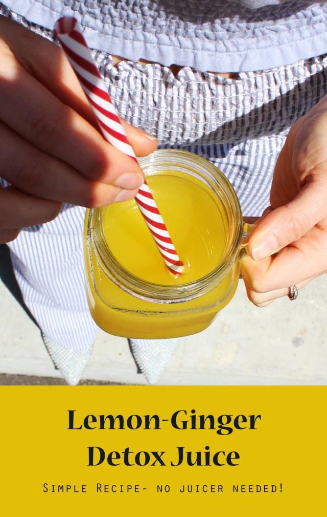 ginger lemon juice pinterest