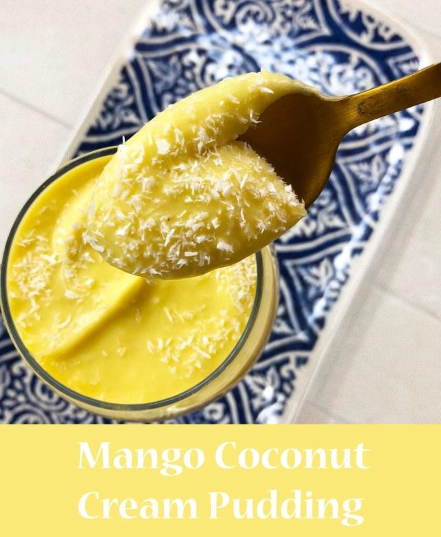 mango pudding pinterest